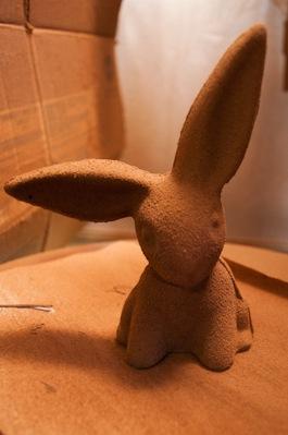 Sprayed Choc Bunny