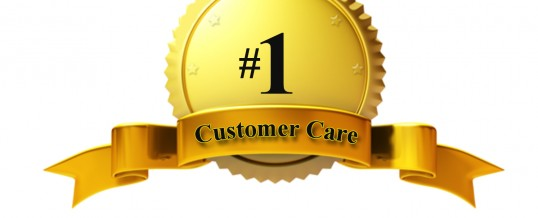 #1 in Customer Care!